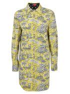 STAUD Corgi Dress - Marigold toile