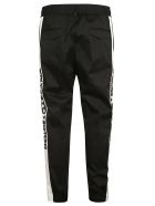 Dolce & Gabbana Stretched Side Logo Trousers - Black