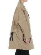 MM6 Maison Margiela Cotton Coat - Beige