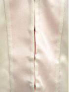 Haider Ackermann Haider Ackermann V-neck Blouse - WHITE + FUCHSIA