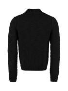 Dolce & Gabbana Virgin Wool Sweater - Nero