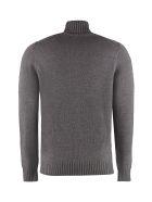 Drumohr Long-sleeve Wool Turtleneck - grey