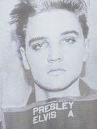 R13 Elvis Mugshot Boy T-shirt S/s - White