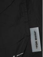 Off-White Off White Logo Swimshorts - BLACK