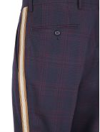Calvin Klein Pants - Navy burgundy brown ecru