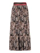 Zimmermann Ladybeetle Printed Pleated Skirt - Multicolor