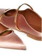 Malone Souliers Flat Shoes - Rosa/oro