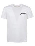 Alexander McQueen Mcqueen Emb T-shirt - White