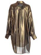 Faith Connexion Oversized Shirt - Gold