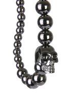 Alexander McQueen Skull Bracelet - ANTRACITE