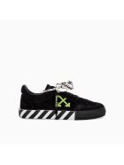 Off-White Off White Low Vulcanized Suede Leather - Nero