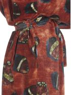 Stella Jean Printed Coat - SPHERE/BEIGE
