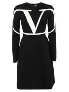 Valentino Dress - Nero/avorio
