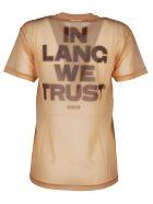 Helmut Lang Sheer T-shirt - Z Dune