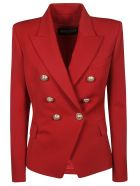Balmain Double Breasted Blazer - Red