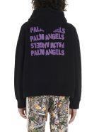 Palm Angels 'angel' Hoodie - Black
