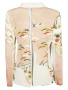 Ibrigu Tropical Print Blazer - Basic