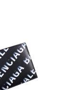 Balenciaga Branded Wallet - 1160 BLK/GREY