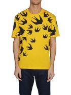 McQ Alexander McQueen Printed T-shirt - Yellow