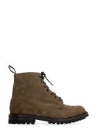 Church's Mc Duff Lw Suede Ankle Boots - mud