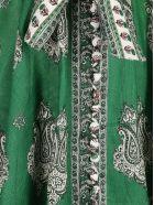 Zimmermann Zimmerman Amari Emerald Dress - Green paisley