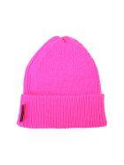 Marcelo Burlon Branded Beanie - Pink
