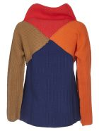 Paul Smith Pullover With Geometric Pattern - Multicolor