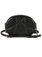Dolce & Gabbana Heart Casual Style Chain Shoulder Bag - black