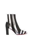 Christian Louboutin Ankle Boot The Joker 85 - Silver/black