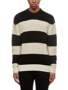 Ami Alexandre Mattiussi Striped Sweater - Basic