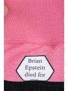 Helmut Lang Pink Cotton Hoodie - rose-pink