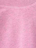 Ganni Sweatshirt W/stripes - Moonlight Mauve
