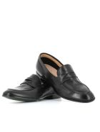 """Green George Loafers """"7072"""" - Black"""