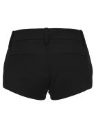 Saint Laurent Tailored Mini Shorts - BLACK