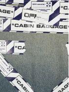 Off-White Off White Airport Tape Denim Jacket - INDIGO