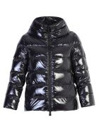 Herno Black Zipped Padded Jacket - Black