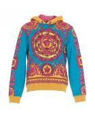 Versace Fluo Barocco Hoodie - Multicolor