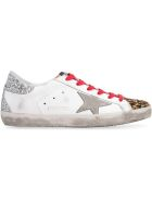 Golden Goose Superstar Leather Sneakers - White