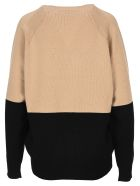 Givenchy 4g Two-toned Knitted Jumper - PINK RED