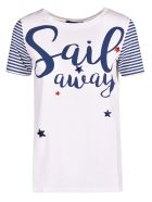 Weekend Max Mara Sail Away Print T-shirt - Basic