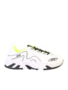 MSGM Branded Sneakers - White