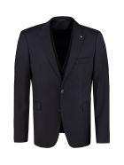 Tagliatore Three-piece Wool Suit - blue