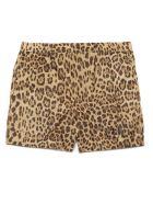 Valentino 'animalier' Beach Shorts - Multicolor