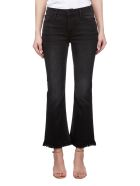 Frame Cropped Bootcut Jeans - Nero