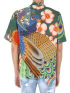 Dsquared2 Short Sleeve Shirt - MULTICOLOR
