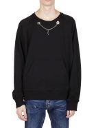 Neil Barrett Necklace Embellishment Hoodie - Black