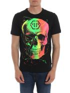 Philipp Plein Skull Print T-shirt - Black