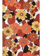Dodo Bar Or Round Beach Towel - ORANGE BROWN (Orange)
