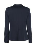 Jucca Single-breasted Two-button Blazer - blue