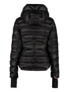 Moncler Grenoble Armotech Jacket With Zip And Snap Buttons - black